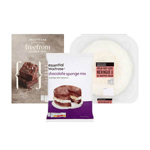 Browse Sweet Baking Mixes