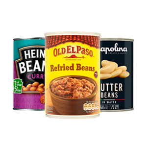 Browse Tinned Beans
