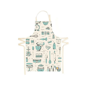 Victoria Eggs Baking Delight Apron Teal