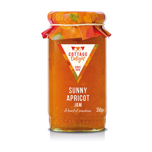 Cottage Delight Sunny Apricot Jam