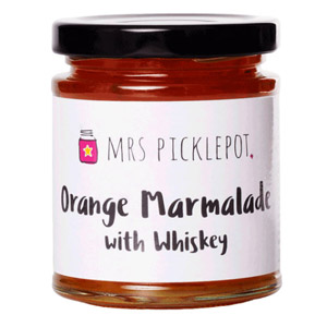 Mrs Picklepot Orange Marmalade with Whiskey