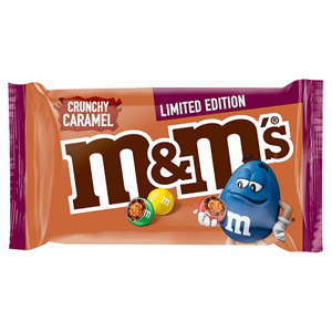 M&M's Limited Edition Crunchy Caramel