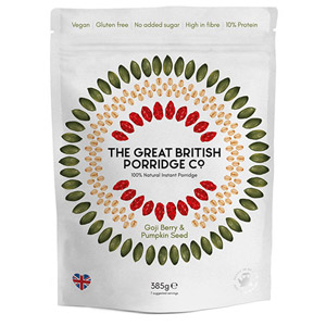 The Great British Porridge Co Red Berry and Pumpkin Seed