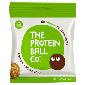 The Protein Ball Co Lemon and Pistachio Protein Balls