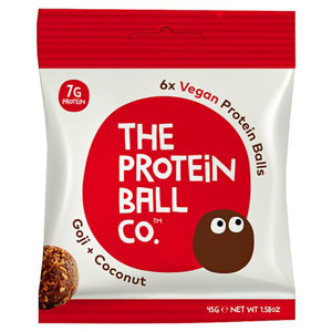 The Protein Ball Co Goji and Coconut Protein Balls
