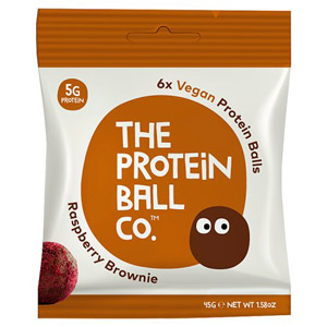 The Protein Ball Co Raspberry Brownie Protein Balls