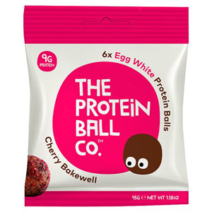 The Protein Ball Co Cherry Bakewell Protein Balls