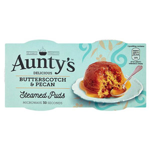 Auntys Butterscotch And Pecan Puddings