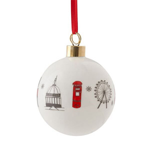 Victoria Eggs London Skyline Bauble