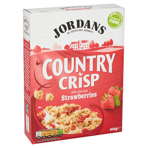 Jordans Country Crisp Strawberry