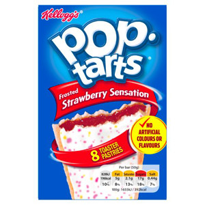 Kelloggs Pop Tarts Strawberry Sensation