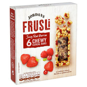 Jordans Frusli Bar Red Berry 6 Pack