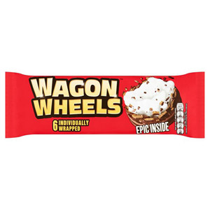 Burtons Wagon Wheels 6 Pack