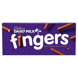 Cadbury Milk Chocolate Fingers 114g