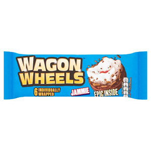Burtons Jammie Wagon Wheels 6 Pack