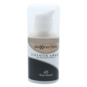 Max Factor Colour Adapt Foundation 34ml - #45 Warm Almond