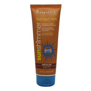 Rimmel Instant Tan Sun Shimmer - Water Resistant 125ml - Medium Matte