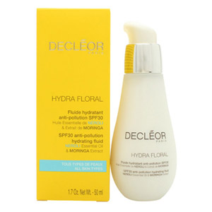 Decleor Hydra Floral Anti-Pollution Hydrating Fluid SPF30 50ml