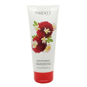 Yardley English Dahlia Exfoliating Body Scrub 200ml