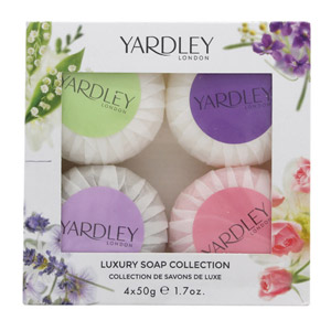 Yardley Luxury Soaps Collection Gift Set 50g Lavender Soap + 50g Lily Of The Val