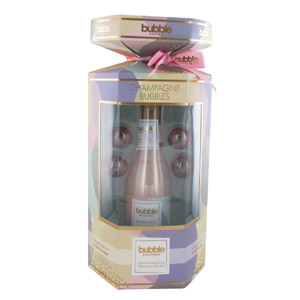 Style & Grace Bubble Boutique Champagne Bubbles Gift Set 250ml Bubble Bath in Ch