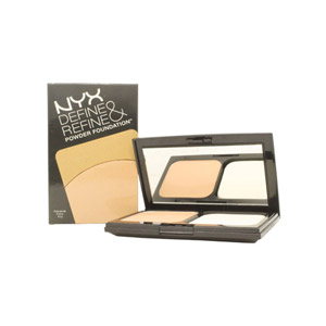 NYX Cosmetics Define Refine Powder Foundation 9.5g - DRPF02 Light