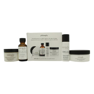 Philosophy Miracle Worker Gift Set Miraculous Anti-Aging Trial Kit - 30ml Moistu