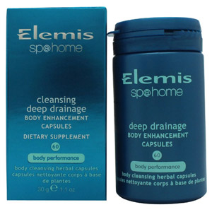 Elemis Sp@Home Cleansing Deep Drainage Body Enhancement Capsules - 60 Capsules
