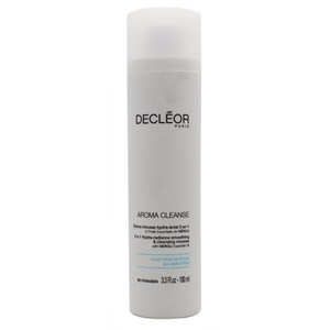 Decleor Aroma Cleanse 3 in 1 Hydra-Radiance Smoothing & Cleansing Mousse 100ml -
