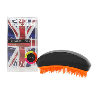 Tangle Teezer Detangling Hair Brush - Black/Orange