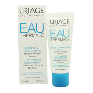 Uriage Eau Thermale Light Water Cream SPF20 40ml - Normal to Combination Skin