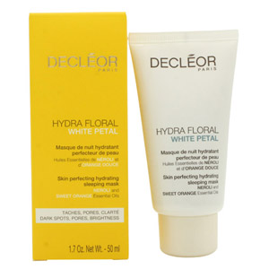 Decleor Hydra Floral White Petal Skin Perfecting Hydrating Sleeping Mask 50ml
