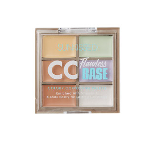 Sunkissed CC Flawless Base Colour Correcting Palette 7.2g