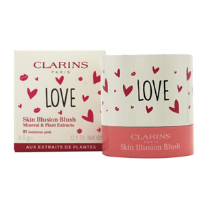Clarins Skin Illusion Blush 4.5g - 01 Luminous Pink