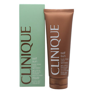 Clinique Self Sun Body Tinted Lotion Light - Medium 125ml