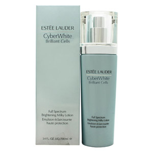 Estee Lauder CyberWhite Brilliant Cells Full Spectrum Brightening Milky Lotion 1
