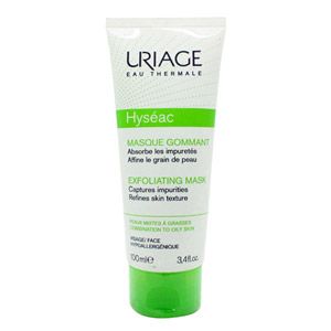 Uriage Hyseac 2-in-1 Exfoliating Mask 100ml