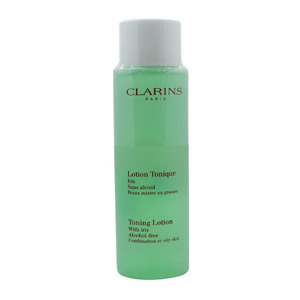 Clarins Cleansers and Toners Toning Lotion with Iris - Combination/Oily Skin 200