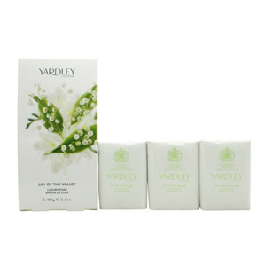 Yardley Lily of the Valley Soap 3x 100g