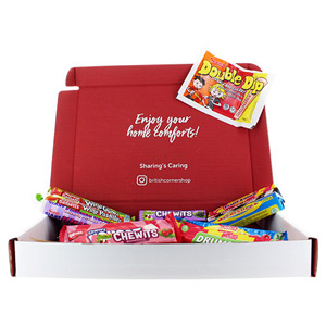 Brit Kit Letterbox - Retro Sweets