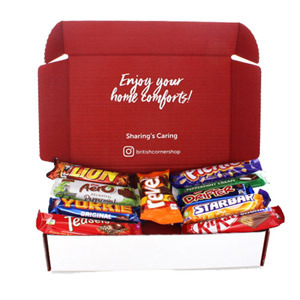 Brit Kit Letterbox - British Chocolate Goodies