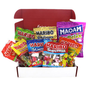 Brit Kit Letterbox - Haribo Mix