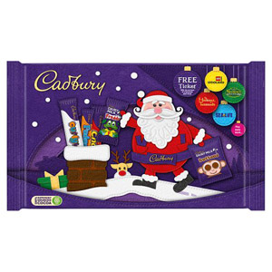 Cadbury Small Santa Selection Pack