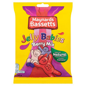 Bassetts Jelly Babies Berry Flavour