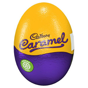 Cadbury Caramel Filled Egg