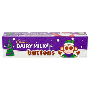 Cadbury Dairy Milk Buttons Tube