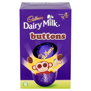Cadbury Buttons Egg Small