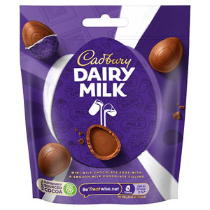 Cadbury Dairy Milk Mini Eggs Bag