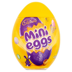 Cadbury Mini Eggs Plastic Egg