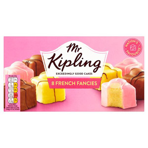 Mr Kipling French Fancies 8 Pack